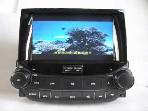 Chevrolet Malibu DVD Player GPS, Chevrolet Malibu DVD Player TV