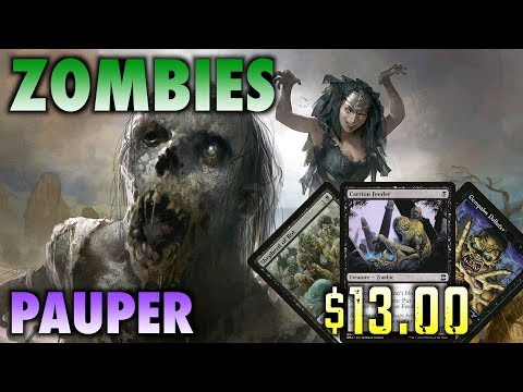 MTG- How To Build Pauper Zombies - A $13.00 Magic: The Gathering Deck!