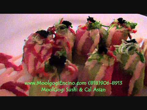 Special Spicy Rainbow Roll $12.95 Shrimp,Tuna,Salmon,Whitefish +