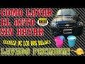 COMO LAVAR UN AUTO CORRECTAMENTE SIN RAYARLO TECNICA DE LAVADO CON DOS BALDES HOW TO WASH CAR mp3