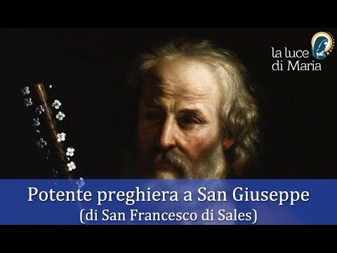 Devozione A San Giuseppe Preghiera Di San Francesco Sales