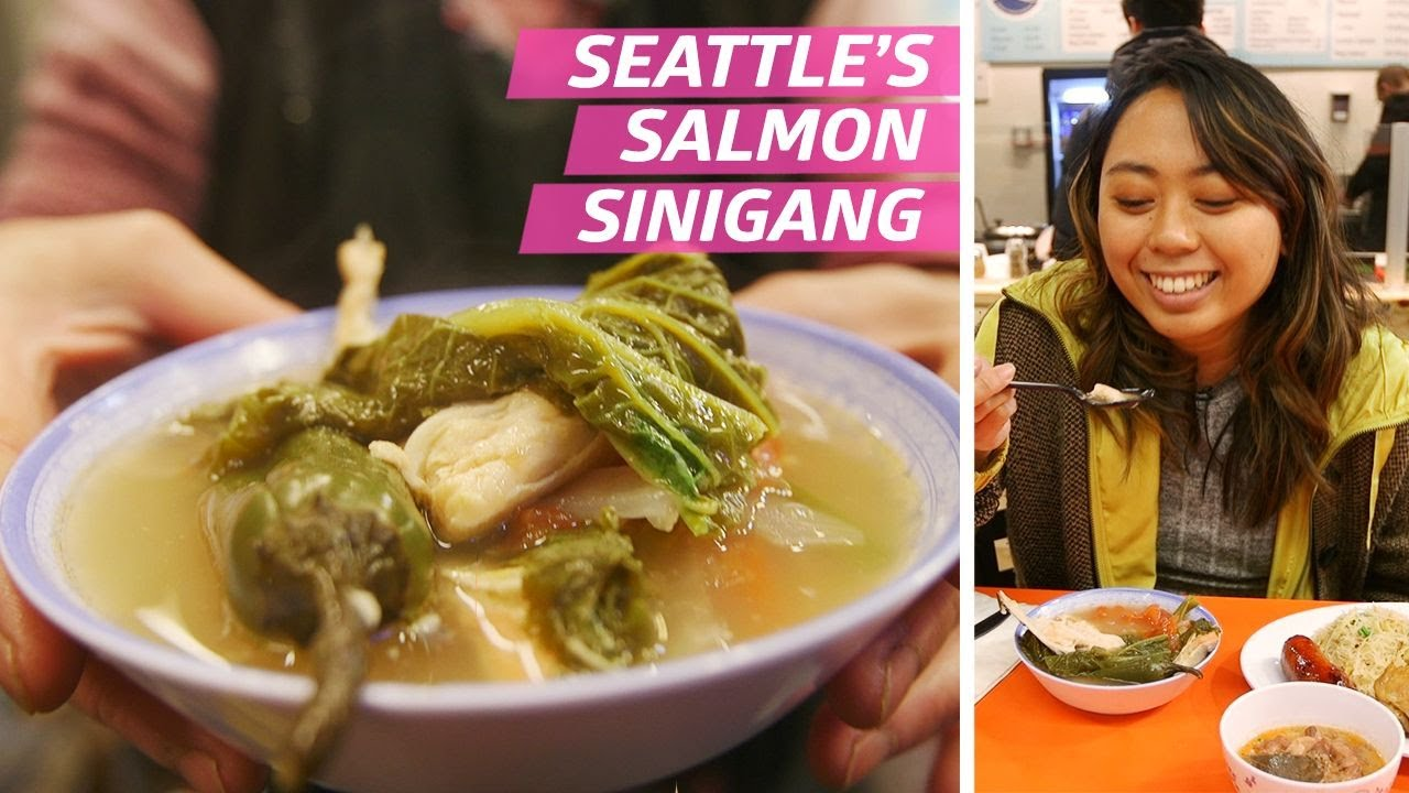 Seattle's Pike Place Fish Market Has a Legendary Filipino Food Stall — Halo Halo