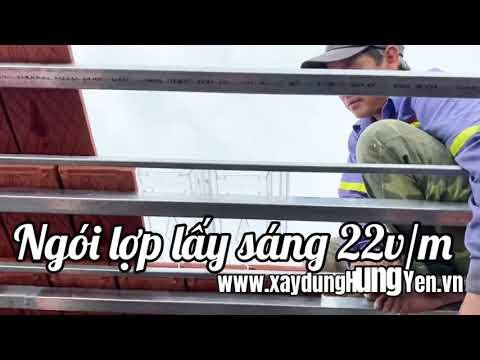 Ngói Lợp Lấy Sáng 22v/m | Ngói Lợp Lấy Sáng Viglacera Hạ Long | Ngói Lợp Lấy Sáng Gốm Đất Việt
