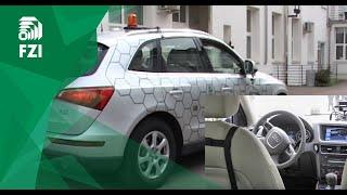 CoCar zeigt autonomes Einparken