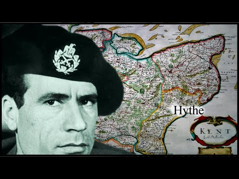 Young Colonel Gaddafi Trained In England (Hythe, Kent) - Early Life