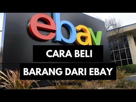 Cara Mudah Beli Barang Dari Ebay