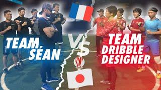 CRAZY STREET FOOTBALL GAME// SÉAN GARNIER VS DRIBBLE DESIGNER !!!