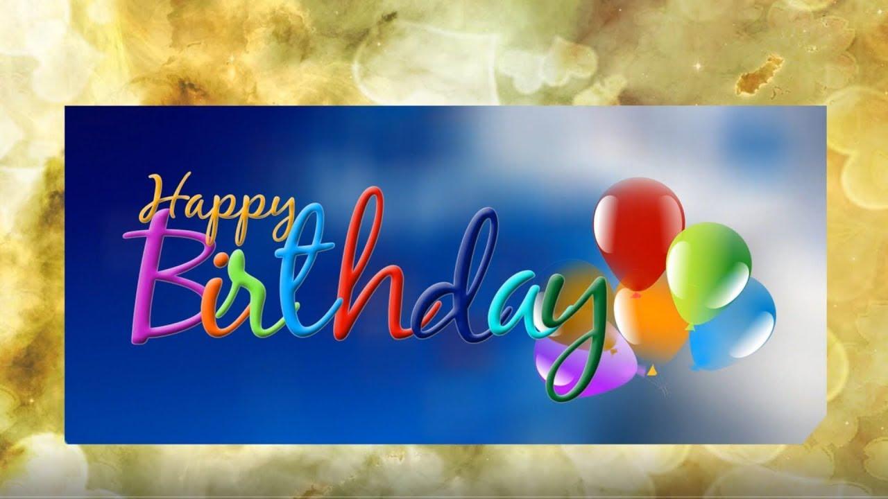 Happy Birthday Herzlichen Glückwunsch Zum Geburtstag