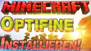  Optifine 1.8 als Minecraft 1.8 Mod installieren  Anti lagg - German Deutsch | Mac Windows
