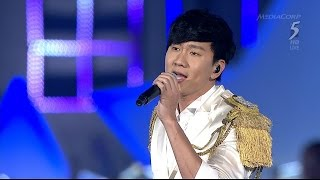 JJ Lin 林俊杰 : Our Singapore in NDP2015 [HD]