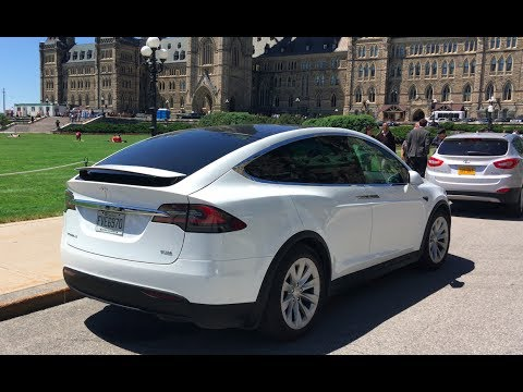Montreal to Ottawa in a Tesla Model X