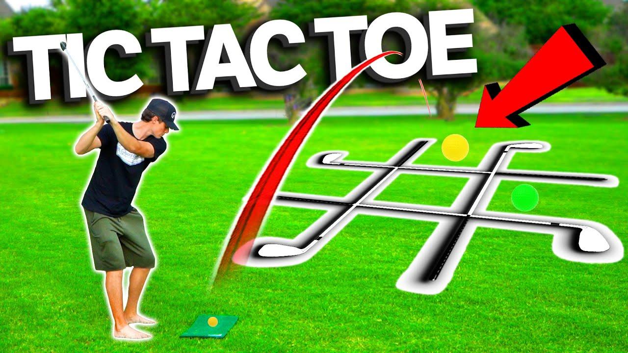 Crazy 2v2 Golf TIC TAC TOE!   GM GOLF