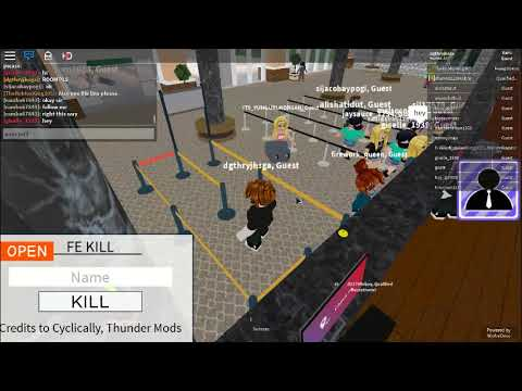 fe kill script working any games pastebin