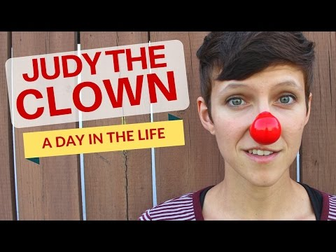 "Judy The Clown ""A Day in the Life"" 