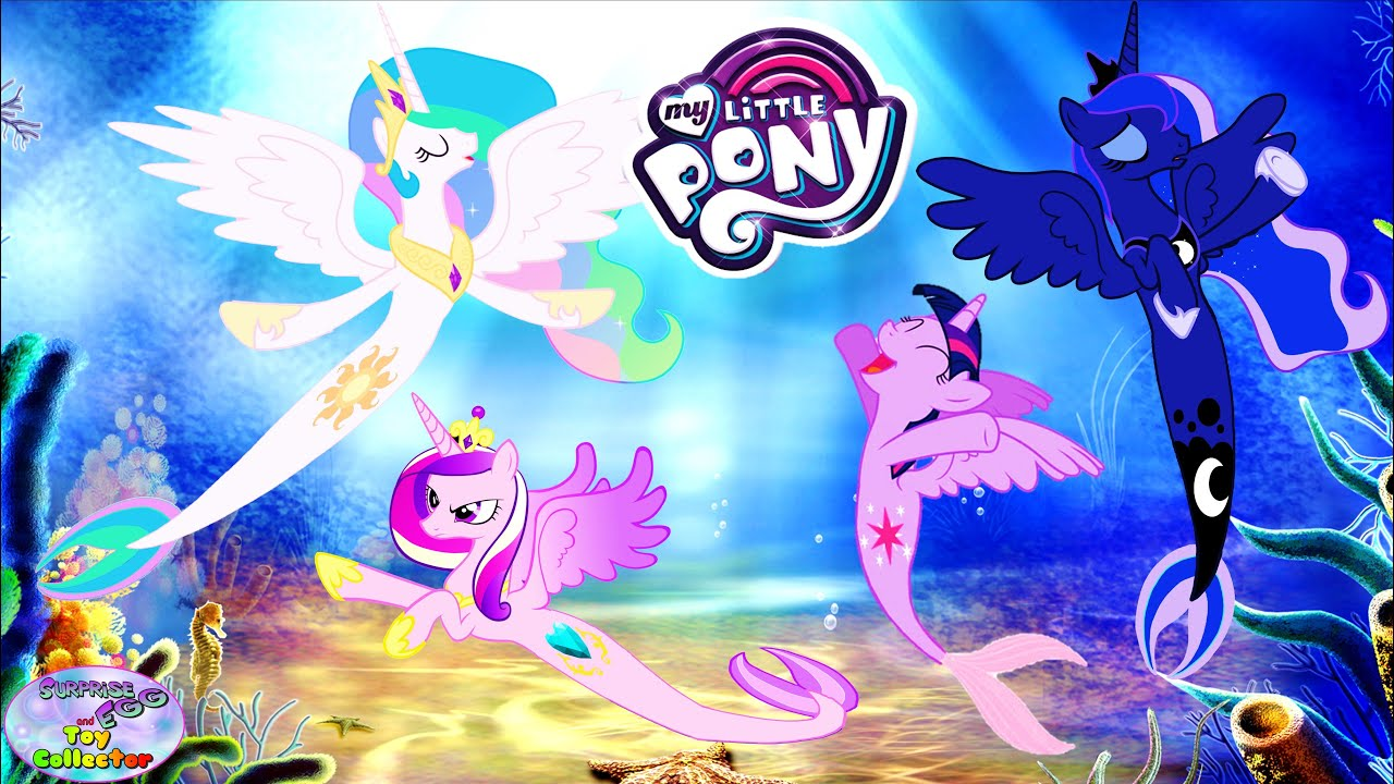 My Little Pony Princesses Transforms Into Princess