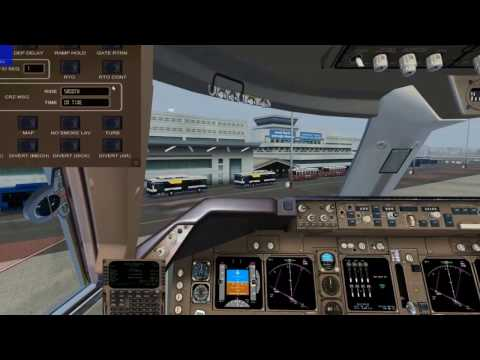 FSX world tour 24th step from  Mumbai to Dhaka  Boeing 747