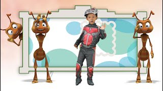 The Ants Go Marching One by One Song   Learn to count with Antman   Kids Songs