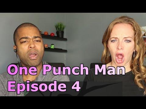 "One Punch Man Episode 4 ""The Modern Ninja"" (Reaction 🔥)"