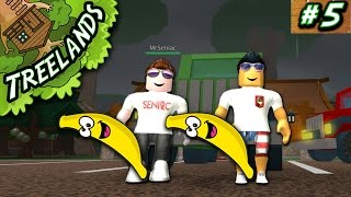 Treelands Ep. 5: Banana Racing w/ Seniac! | Roblox