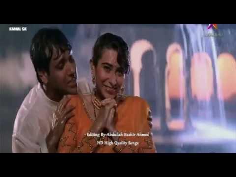 Tumsa Koi Pyaara Koi Kamalsk Khuddar Bollywood Songs Govinda Karisma Kapoor HD1080p Kumar Sanu