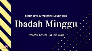 Download Ibadah Minggu, 25 Juli 2021 - Full Service