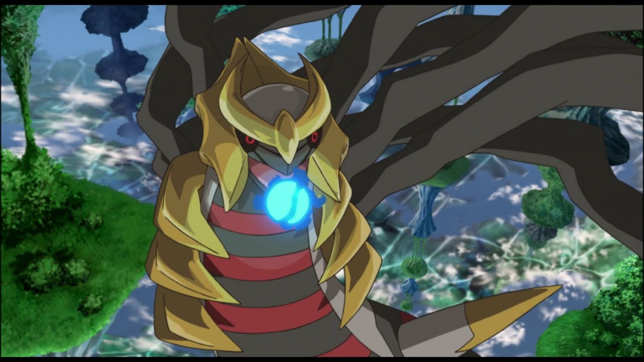 Pokemon Giratina And The Sky Warrior Official Trailer Youtube