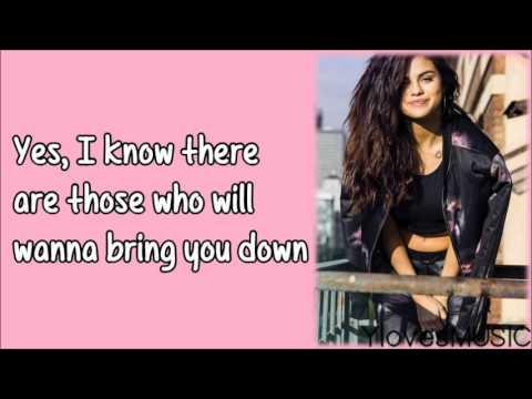 Selena Gomez - Rise (Lyrics)
