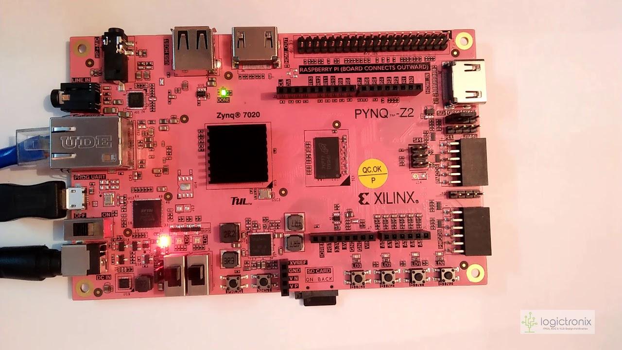 Pynq FPGA Tutorials – LogicTronix
