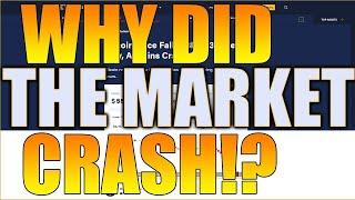 MASSIVE Crypto Market CRASH! CRASH EXPLAINED! THETA, Vechain, Bitcoin, Ethereum, & More! Crypto SALE