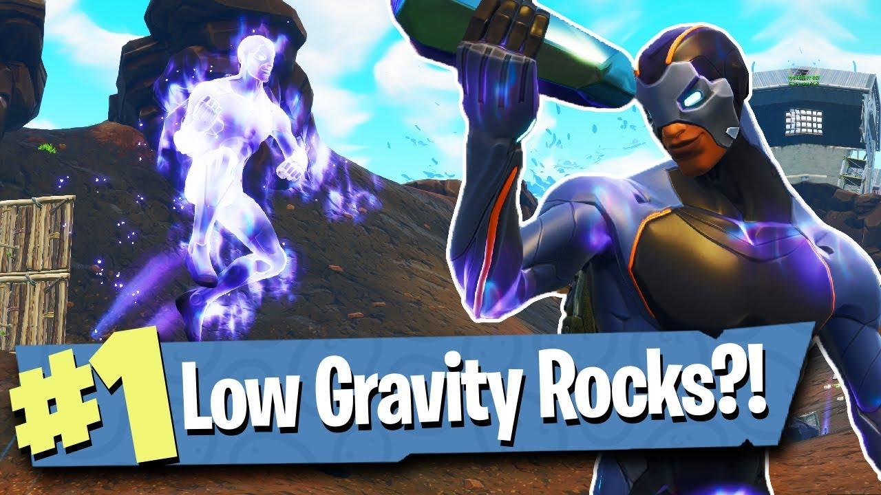 Season 4 Battle Pass Low Gravity Hop Rocks Fortnite Battle