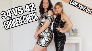 34 vs 42 I Online Shop im Größen Check I Live Try on Herbst Looks