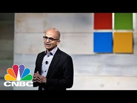 Among A Few Decliners, This Has Been A Success At Microsoft | Tech Bet | CNBC