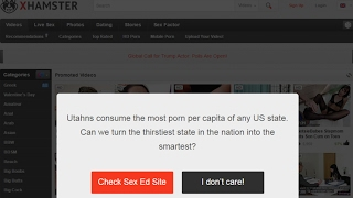 Why Is xHamster Redirecting Users To Sex Ed Videos??