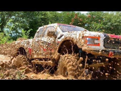 RC Car : Ford F-150 Raptor Mud Bash ! #1