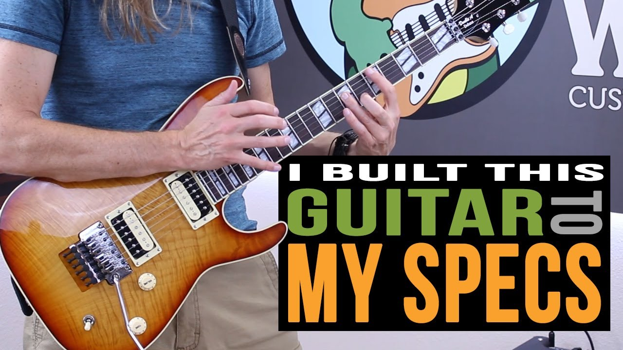 My Personal Warmoth Build - Warmoth Guitar Products 2018-09-10 15:40