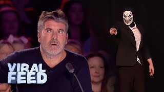 Download SCARY ACT GETS SIMON COWELL UP ON STAGE   VIRAL FEED