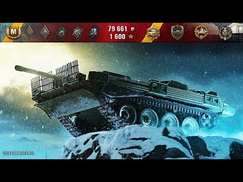 Strv 103B ТАЩИТ БОЙ 12 фрагов, Колобанов 🌟🌟🌟 World of Tanks лучший бой