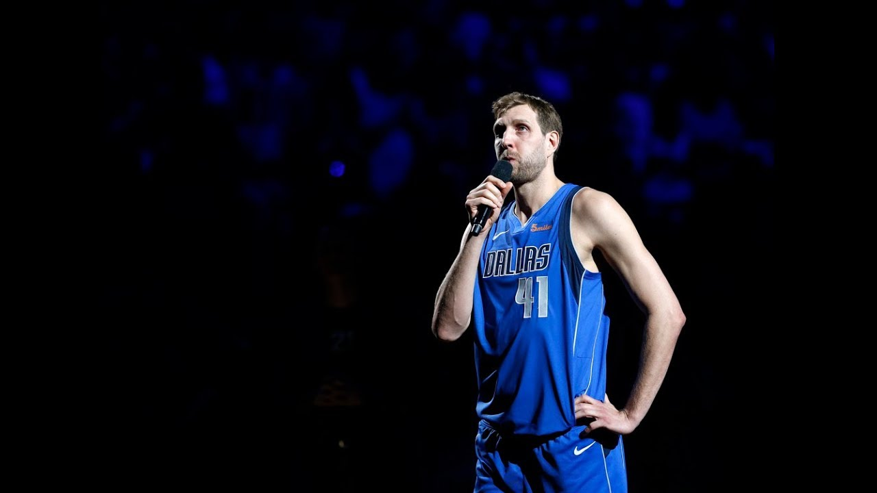 Mavericks' Dirk Nowitzki makes it official that he's retiring, tells fans 'this is my last home game'