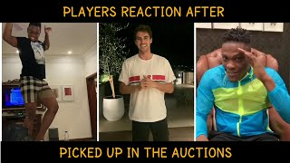 #IPL2020 - Reactions of Players after the Auctions, Watch what they said!