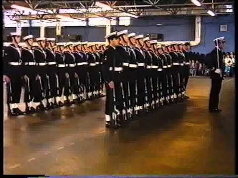 HMS Raleigh Passing out Parade 1st Aug 1986