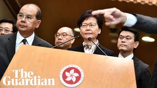 Carrie Lam denounces 'violent' Hong Kong protests: 'It's time to bring back order'