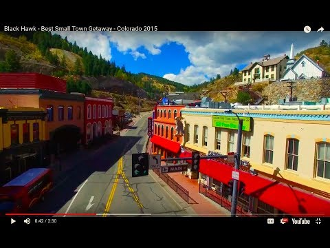 Black Hawk - Best Small Town Getaway - Colorado 2015