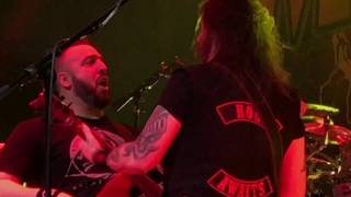 Metal Allegiance-Mandatory Suicide (Slayer cover)-House Of Blues Anaheim CA 1/25/18 4K