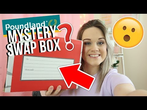 📦 POUNDLAND MYSTERY SWAP BOX WITH @DEMI DONNELLY💸