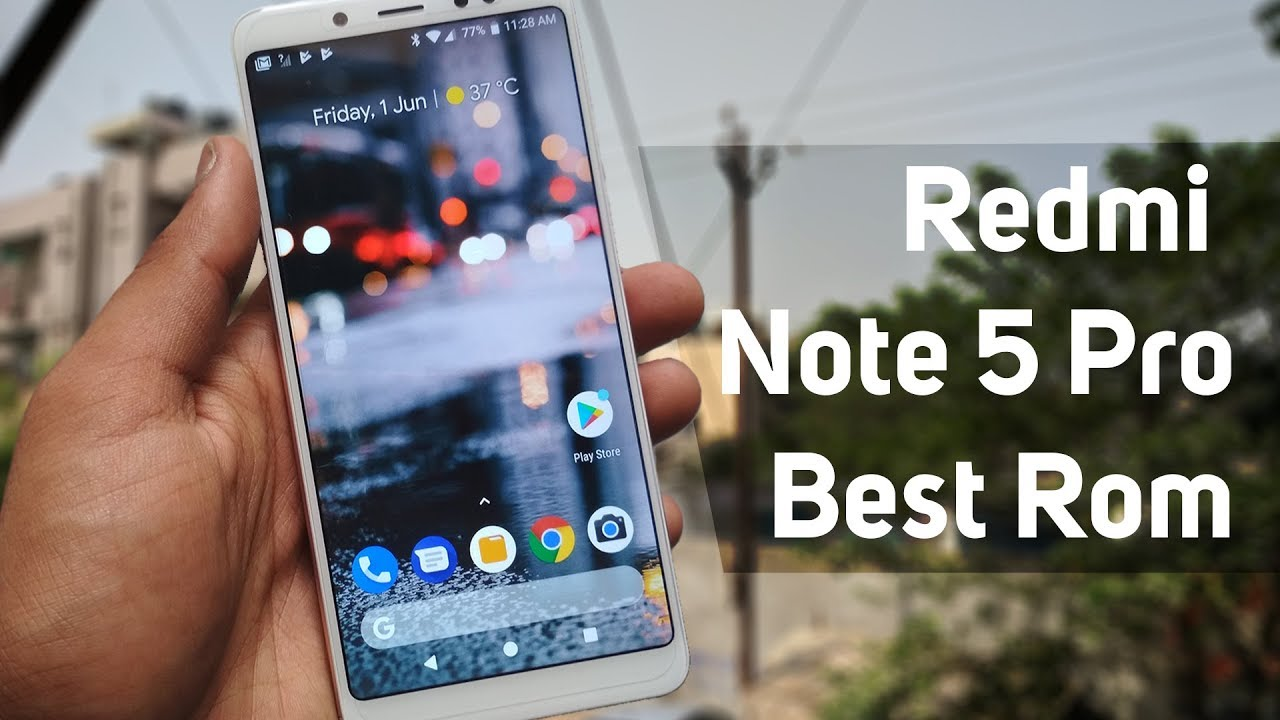 Redmi Note 5 Pro - Official Resurrection Remix Oreo 8 1 with GCam  (Portrait) Best Rom