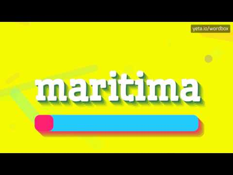 MARITIMA - HOW TO PRONOUNCE IT!?