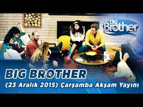 Big Brother Türkiye (23 Aralık 2015) Çarşamba Akşam Yayını - Bölüm 30