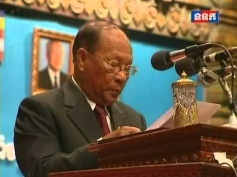 TVK Samdech Heng Samrin Speech   Opening Ceremony of 22nd Congress of Buddhist Monks