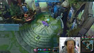 [Stream LOL] Sylchasie Play Ahri KDA 7/4/12