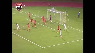 Highlights - T&T and St Kitts draw 1-1 in CONCACAF Women